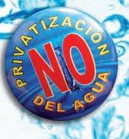 NO A LA PRIVATIZACION DEL AGUA EN CUENCA