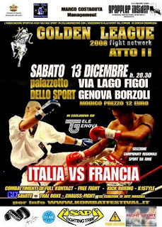 Golden League Genova 13-12-2008 2