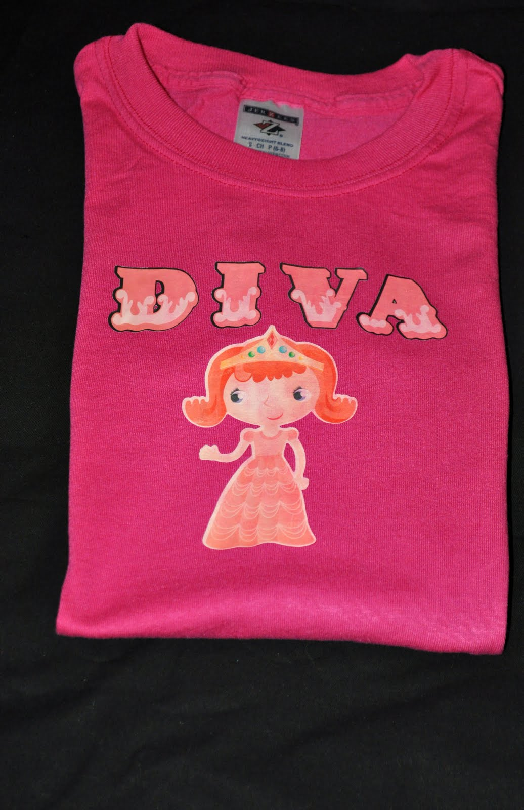 photograph relating to Printable Iron on Vinyl called Vinyl For Cricut Happenings: T-Blouse produced with Printable