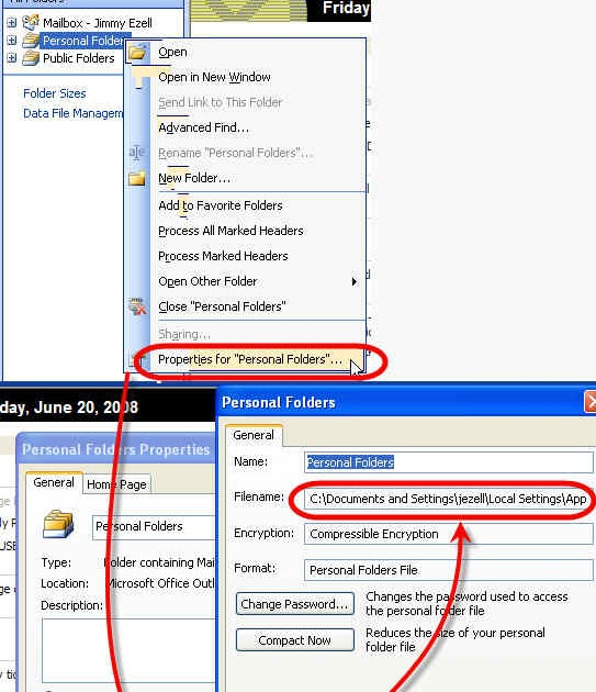 how to delete deleted items in outlook