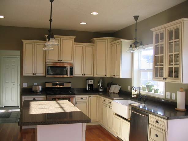 White Kitchen Green Walls kitchen cabinets ideas » green kitchen walls with white cabinets