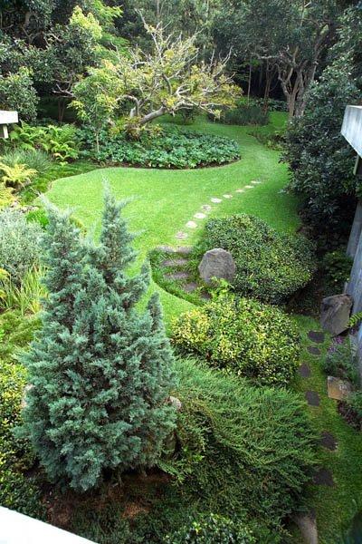 Dise o de jardines paisajismo arq responsable arte - Paisajismo de jardines ...