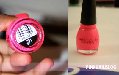 SinfulColors Pink PinkNailBlog #1: sinfulpink6