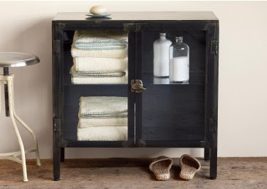 Foundry Linen Cabinet