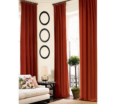 The steampunk home geek details room makeover for Red velvet curtains living room