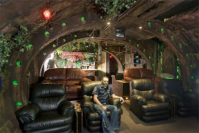 The Steampunk Home: Shipwrecked Submarine; aka Den