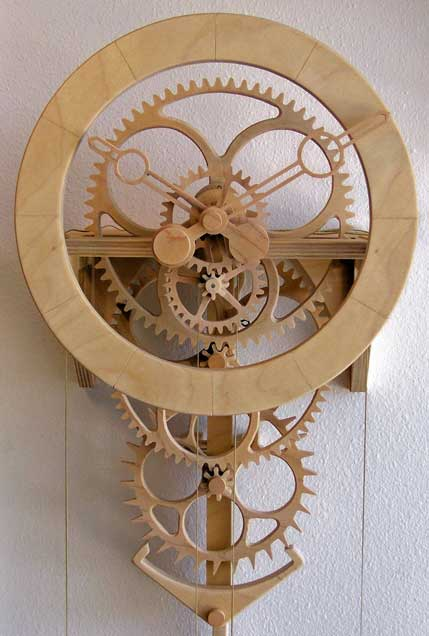 the steampunk home clayton boyer clock designs