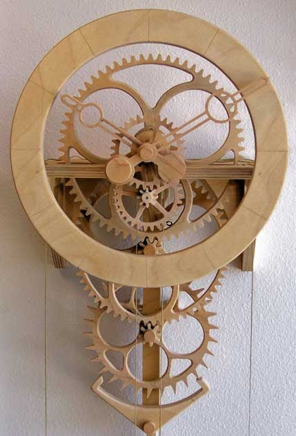 The steampunk home clayton boyer clock designs Steampunk home ideas