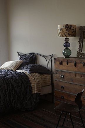 The steampunk home bedroom inspiration for Steampunk bed