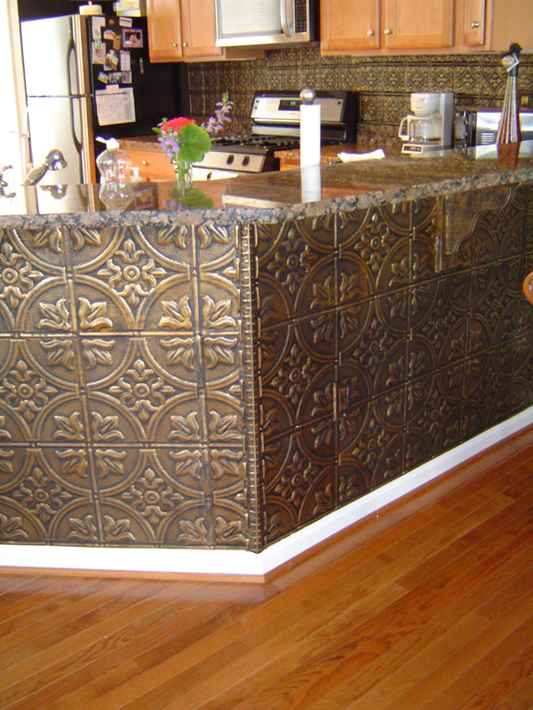 kitchen island wainscoting ideas html with Tin Backsplashes on Huge Walk In Closets also How To Install Picture Frame Moulding The Easiest Wainscoting Style Ever also Kitchen Table Online also P10161170 further Fence Board Planked Wall How To.