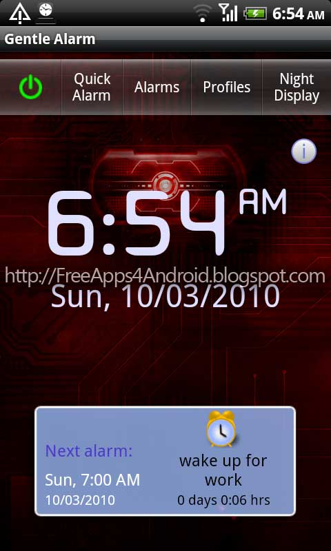 alarm android