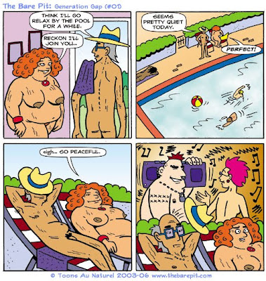 Комиксы нудисты