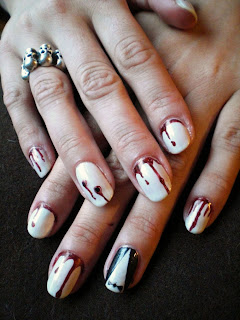 Cute Nail Art Designs Universal Classic Monsters Halloween Nails