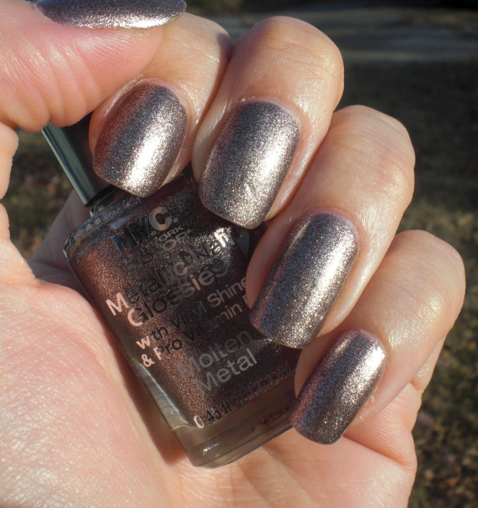 Nyc Metallic Nail Polish