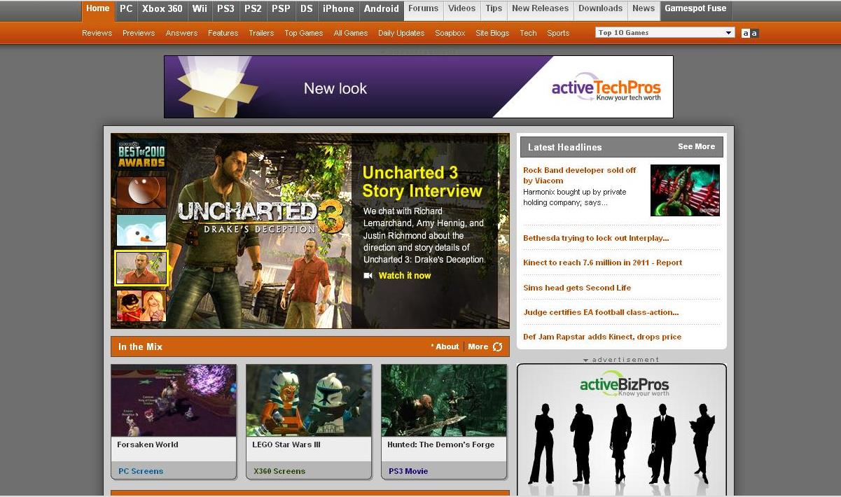 top game review sites