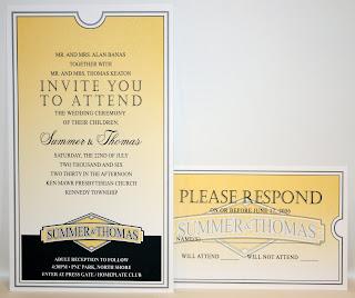 Baseball Theme, Wedding Invitation