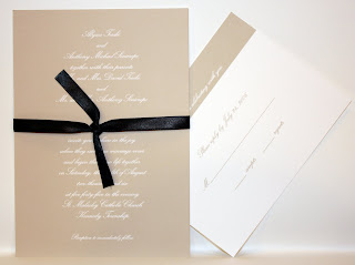 Simple, Chic Wedding Invitation