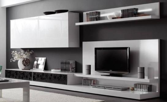 Muebledecor martin muebles de entretenimiento - Muebles de salon modernos baratos ...