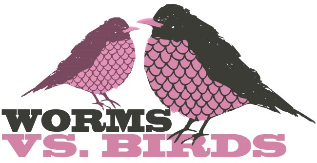 worms vs birds