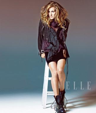 Sarah Jessica Parker on Elle Magazine Covers December 2009 pics