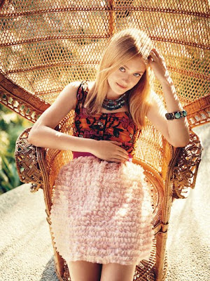 Dakota Fanning on Teen Vogue Covers December 2009 photo