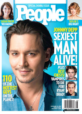 Johnny Depp Photoshoot for People Magazine Sexiest Man Alive