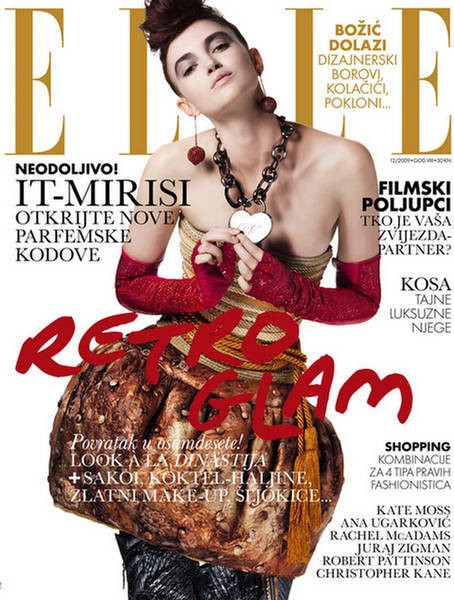 Daily news kristina brkic photo shoot for elle croatia for Elle magazine this month