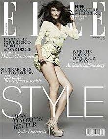 S.S. Helena Christensen in Elle Magazine