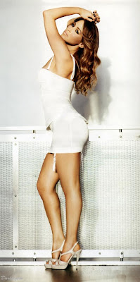 Rachel Stevens in the January 2010 issue of FHM photo