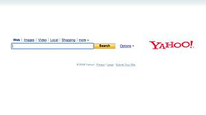 Yahoo Search Engine History