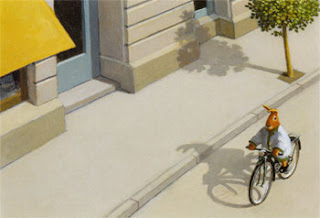 Michael Sowa: Bunny On Bike