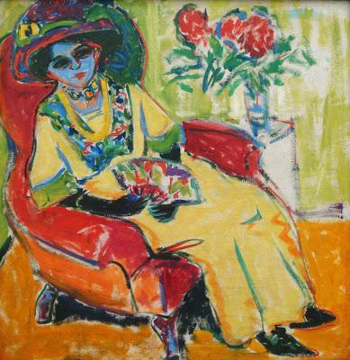 Ludwig Kirchner: Portrait of Dodo, 1909