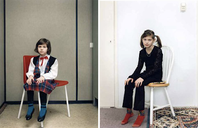 Rineke Dijkstra: Two shots from the