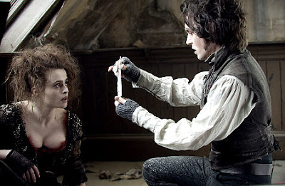 Johnny and Helena in Sweeney Todd
