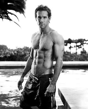 Ryan Reynolds Body  on Ryan Reynolds