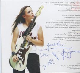 Eu e minha Vida fomos ao lançamento do CD da Myllena. Estava linda!!!