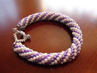 Perle Sauvage: Bead Crochet Rope