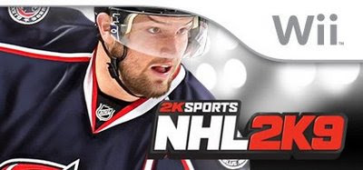 NHL 2K9 for Wii