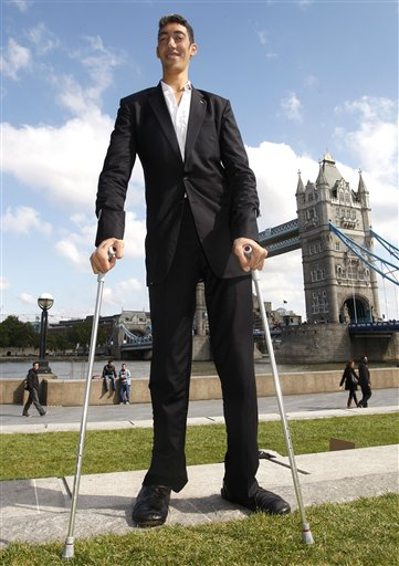 Самый большой человека в мире