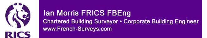 Ian Morris FRICS - Surveyor in France