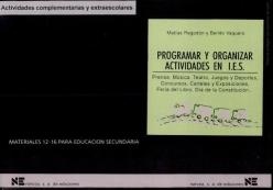 Programar y Organizar Actividades en I.E.S.