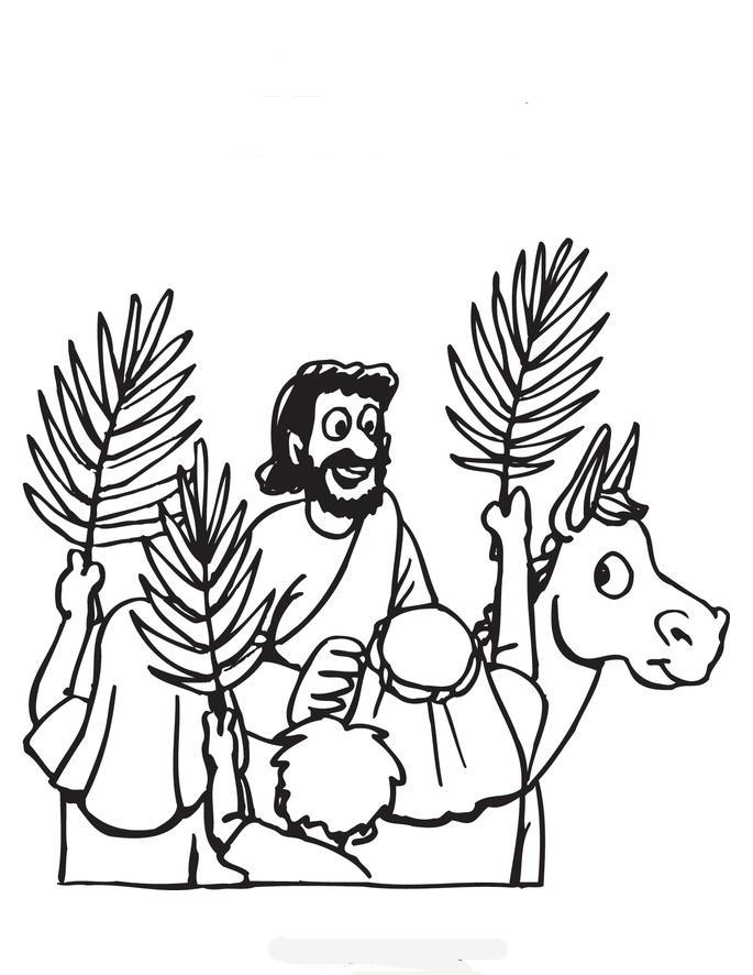 O JUMENTINHO QUE SERVIU A JESUS! A entrada triunfal de JESUS em ...