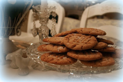 My Romantic Home Mmm Peanut Butter Cookies