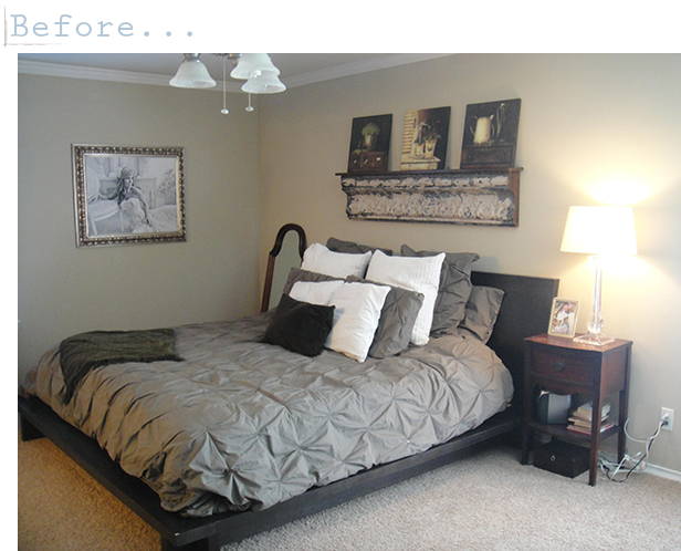 my romantic home an amazing master bedroom makeover