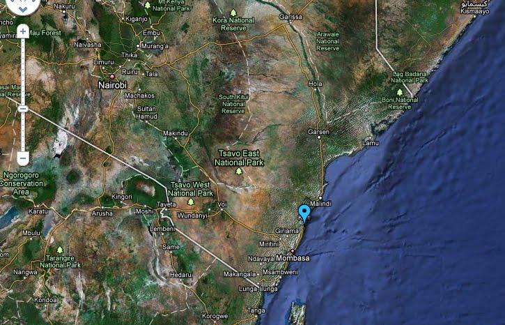 Takaungu, Kenya