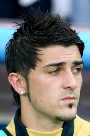 David Villa Hair style