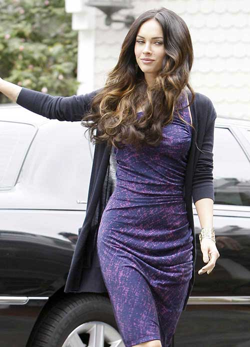 megan fox married to. Megan Fox Hairstyles And