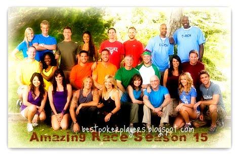 The Amazing Race Season 15 contestants