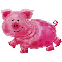 nunca dicuto con cerdos...