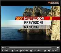 VIDEO PREVISIONI a cura di SKY METEO 24